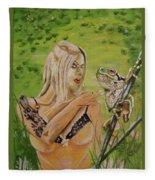 Princess And Frog Fleece Blanket