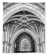 Princeton University Arched Walkway Fleece Blanket