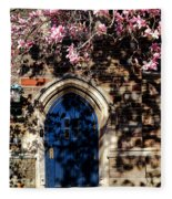 Princeton University Door And Magnolia Fleece Blanket