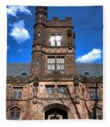 Princeton University East Pyne Hall  Fleece Blanket