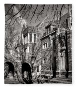 Princeton University Foulke And Henry Halls Archway Fleece Blanket