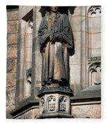 Princeton University J Witherspoon Statue  Fleece Blanket