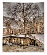 Snow / Winter Princeton University Fleece Blanket