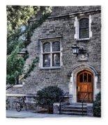 Princeton University Little Hall Fleece Blanket