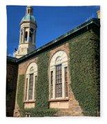Princeton University Nassau Hall Cupola Fleece Blanket