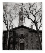 Princeton University Nassau Hall  Fleece Blanket