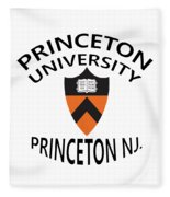 Princeton University Princeton Nj. Fleece Blanket