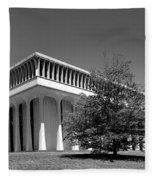 Princeton University Robertson Hall Fleece Blanket