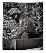 Princeton University Tiger Sculture Fleece Blanket