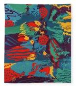 Printed Saltillo Fleece Blanket