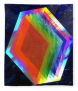 Prismatic Dimensions Fleece Blanket