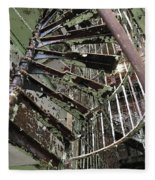 Prison Spiral Staircase Fleece Blanket