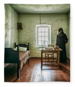 Prisoner In Jail Fleece Blanket