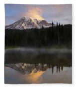 Pristine Reflections Fleece Blanket