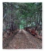 Private Road Fleece Blanket
