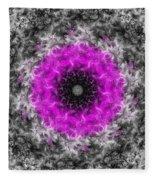 Probability Flower Fleece Blanket