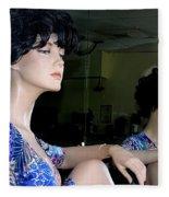 Profile Of Patrice Fleece Blanket