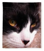 Profile Of Paws Fleece Blanket