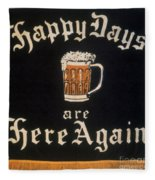 Prohibition: Repeal, C1933 Fleece Blanket