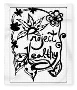 Project Healthy Fleece Blanket