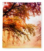 Promise Of A Brighter Future Fleece Blanket