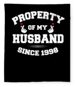 Propertyhusband 1998 Fleece Blanket