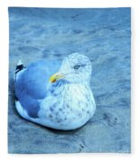 Proud Bird Fleece Blanket