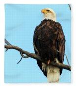 Proud Eagle Fleece Blanket