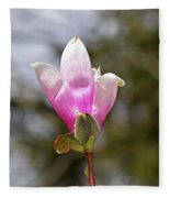 Proud Magnolia Fleece Blanket
