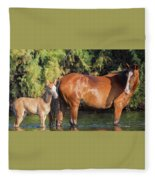 Proud Mare Fleece Blanket