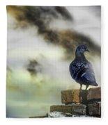 Proud To Be A Pigeon Fleece Blanket