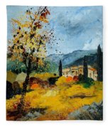 Provence 45 Fleece Blanket
