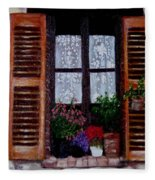 Provence Morning Fleece Blanket