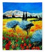 Provence Fleece Blanket