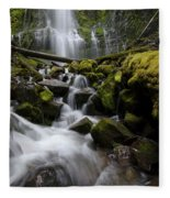 Proxy Falls Oregon 5 Fleece Blanket