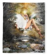Psyche-2 Fleece Blanket