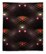 Psychedelic Pattern Fleece Blanket