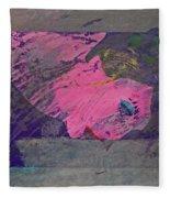 Psycho Warhol Fleece Blanket