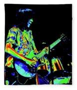 Pt78#27 Enhanced In Cosmicolors #2 Fleece Blanket