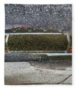 Puddle Reflections Fleece Blanket