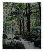 Puerto Rico Fleece Blanket