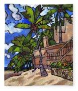 Puerto Vallarta Landscape Fleece Blanket