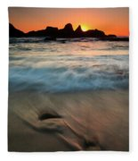 Pulled By The Tides Fleece Blanket