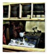Pullman Dining Car Fleece Blanket