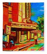 Pumperniks And The Snowdon Theatre Fleece Blanket