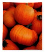 Pumpkin Harvest Fleece Blanket