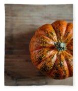 Pumpkin Fleece Blanket
