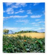 Pumpkin Patch Fleece Blanket