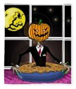 Pumpkin Pie Fleece Blanket