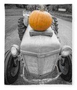 Pumpkins For Sale Vermont Fleece Blanket